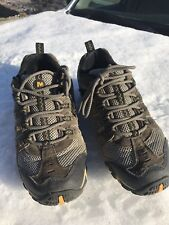 Merrell Men's Accentor Hiking Shoes J276138C Boulder/Old Gold Size 9.5 Pre-owned