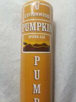 Beer Tap Handle Cottonwood Pumpkin Spiced Ale Bar Cave Keg Party College Decor