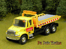 Die Cast Yellow Roll Back Tow Truck S Scale 1:64