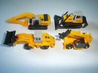 NEW HOLLAND CONSTRUCTION MODEL VEHICLES SET 1:160 N - KINDER SURPRISE MINIATURES