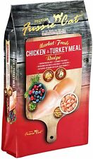 New listing Fussie Cat Market Fresh Grain-Free Protein Rich Dry Food 10lb