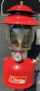 1965 Coleman Model 200A Red Lantern - 1965 Mantle