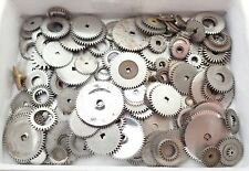 LOT OF ANTIQUE POCKET WATCH MOVEMENT WINDING GEARS PARTS REPAIR