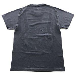 Men's Lululemon Activewear Athliesure Logo Shirt Gray Size Small