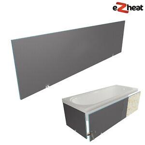 Tileable Bath Panel 1850 x 600 x 30mm Tile Backer Board with 2 Adjustable Feet