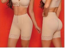 BODY FLEX Butt Lift Compression Body Shaper Girdle Shorts Pant Nude XXL Ref# 035