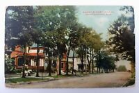 Postcard AL Alabama Montgomery Perry Street North View Old Homes c1900s Unposted