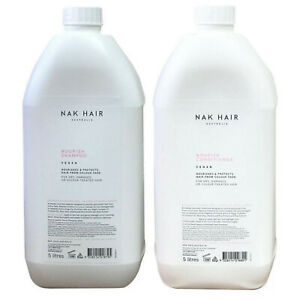 Nak Nourish Shampoo and Conditioner 5L 5 Litres DUO Bulk