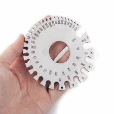 Stainless Steel Sheet Metal Round Thickness Gauge Storage Sleeve Diameter Swg