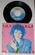 "Pat Benatar - Canadian 45 with picture sleeve - ""Invincible"" - NM/NM"