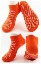6 x Yoga Non Slip Grip Socks - Yoga Pilates Fitness Safety - Physio Approved-XL