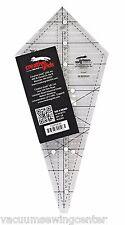 Creative Grids 22.5 degree Triangle ruler - non slip ruler