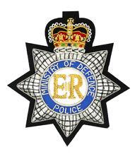 More details for mod police embroidered blazer badge