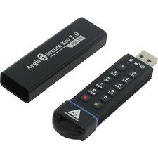 Apricorn Aegis Secure Key 3.0 - Usb 3.0 Flash Drive - 30 Gb - Usb 3.0 (ask330gb)