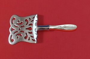 """Rose Solitaire by Towle Sterling Silver Petit Four Server HHWS  Custom Made 6"""""""