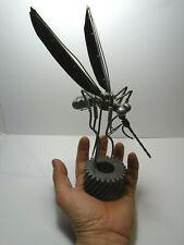 MOSQUITO  ART SCRAP METAL FIGURE SCULPTURE. METAL WELDING COLLECTIBLE