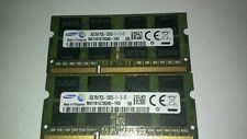 Samsung 16GB (2 X 8GB ) PC3L-12800S DDR3L DDR3 SO-DIMM Laptop Memory