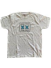 Mr Scruff T-Shirt, 2010 - White Mens Size Large