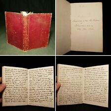 "1839-41 Manuscript Hand Written ""Scrapiana Joe Miller & Johnsoniana Commonplace"
