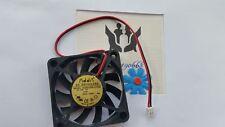 1Pcs 12V 2-Pin 0.16A 60x60x10mm PC ventilador de la CPU refrigeración silenciosa caja del ordenador