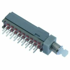 5 x Mini bouton poussoir Verrouillage PCB Switch 6PDT 30 V