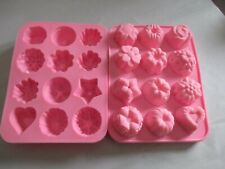 Mini Cakes Silicone Mold For Wax Soap Gummies Chocolate ice tray