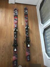Exclusive Discontinued Salomon Qmax Jr Skis 130cm