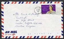 Hong Kong 1980/1981. Cover to UK. Queen Mother/80th Birthday.