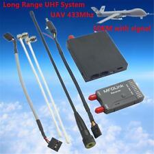 50KM New MFDLink 433Mhz LRS 16Ch FPV UHF Transmitter Receiver TX + RX Set QAV250