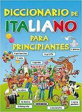 Diccionario de italiano para principiantes. ENVÍO URGENTE (ESPAÑA)