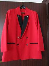 Damenblazer Trachten Janker rot 42 44 Damentrachtenblazer vollwaschbar nwtg