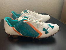 Under Armour Miami Dolphins Colorway Football Cleats Size 15