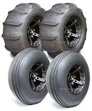 "MSA Black Battle 14"" ATV Wheels 29"" Sand Slinger Tires Polaris RZR 1000 XP"