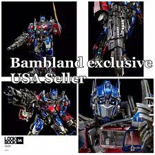 Threea Transformers Dark of the Moon Optimus Prime Figure 3A ThreeZero 📦 USA