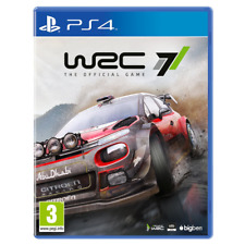 WRC 7 (PS4) WORLD RALLY CHAMIONSHIPS CAR RACING SPORT GAME PLAYSTATION CONSOLE -