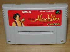 Nintendo Super Famicom Aladdin SFC SNES Japan F/S