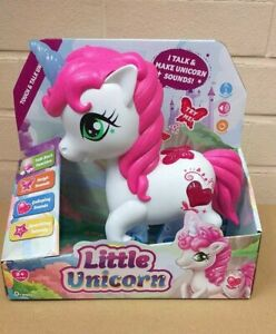 Touch & Talk Little Unicorn Interactive Electronic Toy Pet Sparkling Sounds