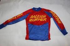 """RALEIGH BURNER OG Vintage 1980s BMX JERSEY Mongoose Hutch TUF NECK Skyway 34"""""""