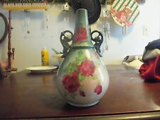 ANTIQUE LA BELLE CHINA EWER MARKED W P BY WHEELING POTTERY LATE 1880'S - RARE