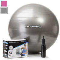 DynaPro Direct Exercise Ball with Pump GYM QUALITY Fitness Ball Yoga Swiss Ball