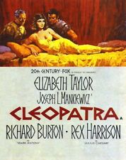 CLEOPATRA MOVIE POSTER Elizabeth Taylor 1963 RARE NEW 1