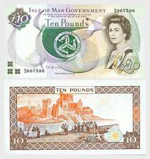 Isle of Man- £10 Banknote (S) UNC