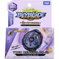 Takaratomy Beyblade Burst B-102 Twin Nemesis.3H.UI Attack Booster Top Pack Spinn