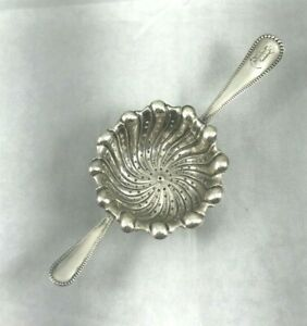 Bead by Frank Smith/Towle Sterling Over the Cup Tea Strainer-Mono P