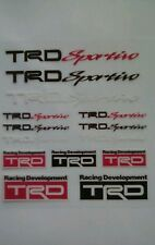 TRD CLUB SPORTIVO MINI Adesivo Decalcomania Set TOYOTA YARIS YARIS MR2 CELICA