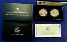 2001 Amercan Buffalo Commemorative Coins Proof & Uncirculated 90% Silver Dollars