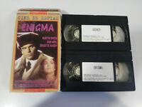 ENIGMA + Agency Robert Mitchum Sam Neil - 2 X VHS Nastro Castellano