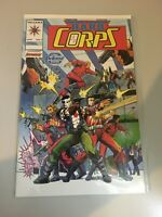 The Hard Corps # 5 Valiant Comics Bloodshot Appearance