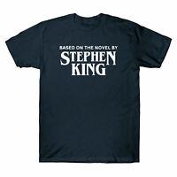 Based on The Novel By Stephen King T-Shirt Horror Halloween IT Movie Men's Shirt