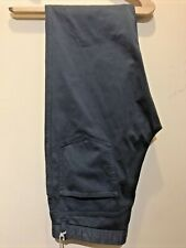 """Brioni Pants Trousers 37 """" Cotton Elastane Chinos Green Made in Italy $705"""